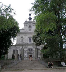 A church in Hvardiyske