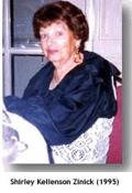Shirley Kellenson Zinick