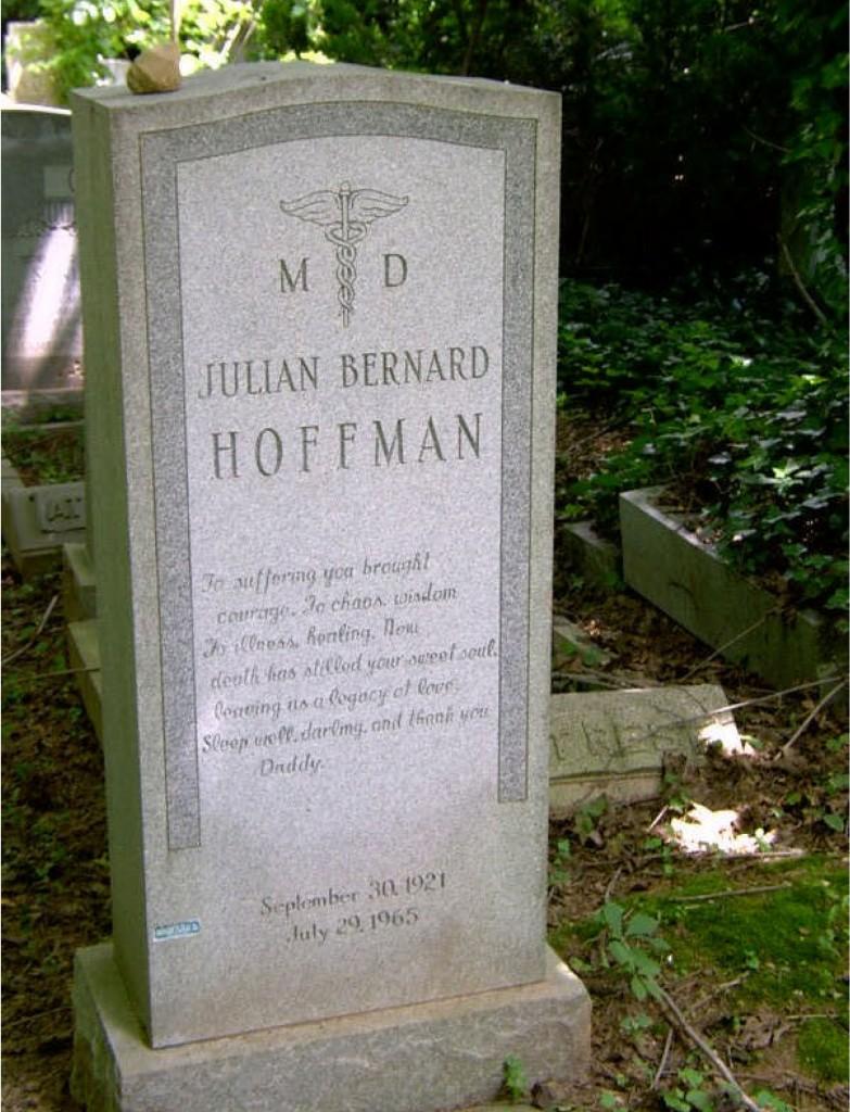 Julian Bernard Hoffman grave