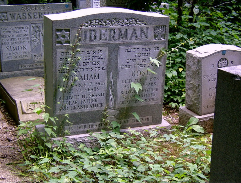Rose and Abraham Uberman Grave