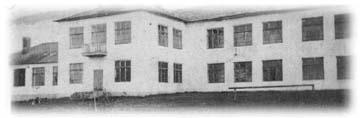 THE HIGH SCHOOL IN GVARDEYSKOYE (formerly Felshtin), 1947.