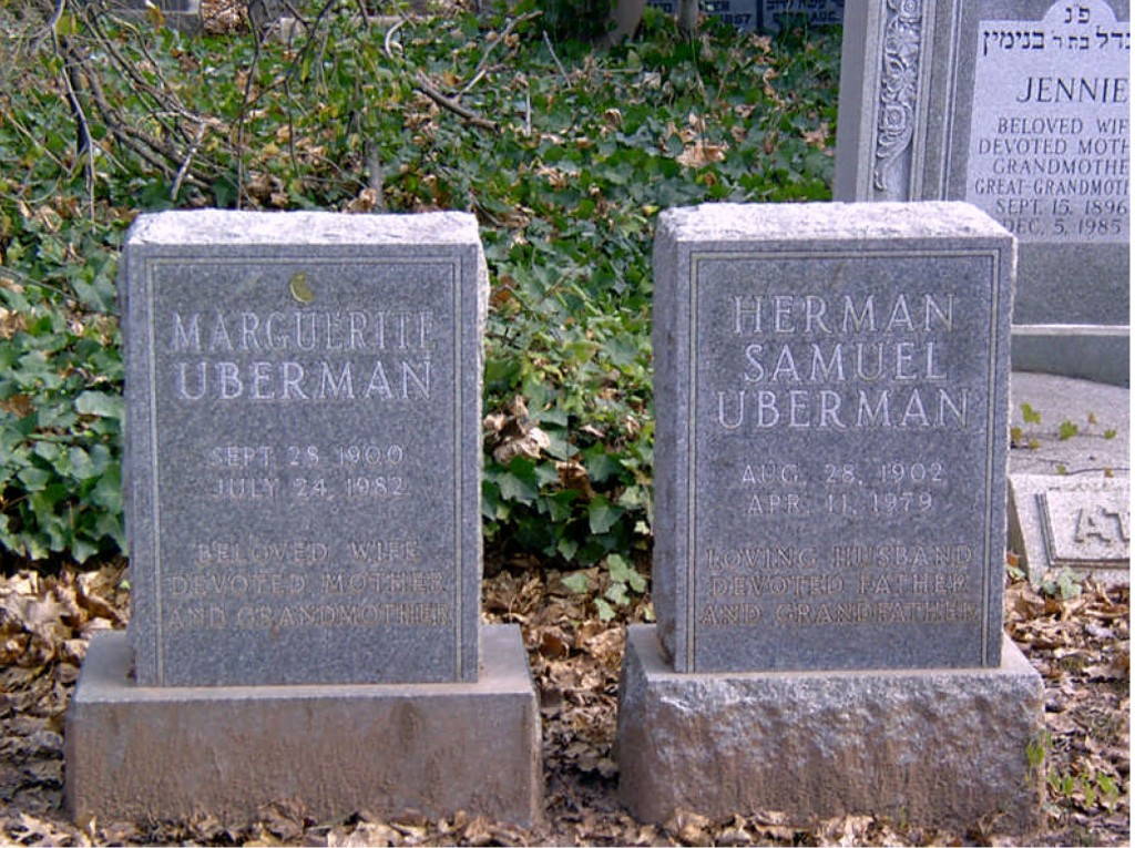 Marguerite and Herman Uberman